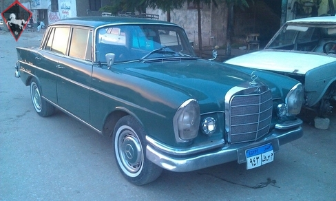 Mercedes-Benz 220S w111 Fintail 1966