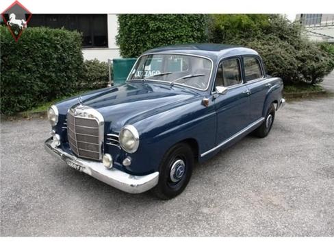 Mercedes-Benz 190 Ponton 1961