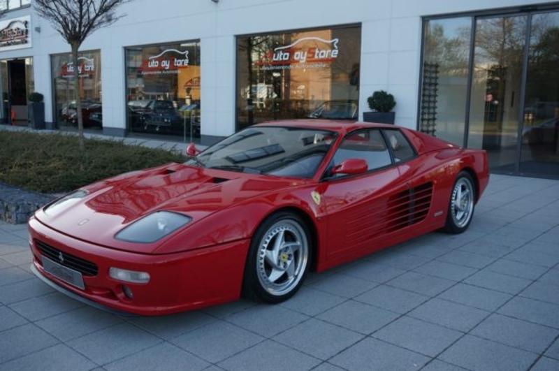 1995 Ferrari Testarossa Is Listed For Sale On