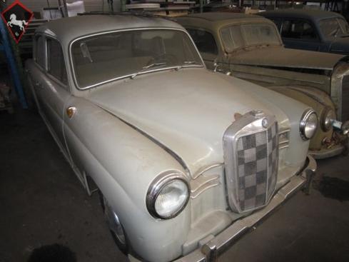 Mercedes-Benz 190 Ponton 1957