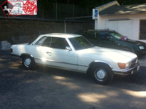 Mercedes-Benz 280SLC w107 1977