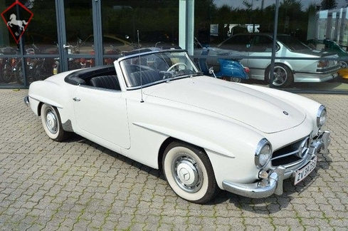 Mercedes-Benz 190SL 1962