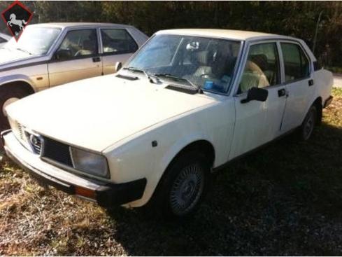 Alfa Romeo 2000 Berlina 1980