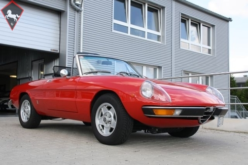 1974 alfa romeo spider is listed sold on classicdigest in. Black Bedroom Furniture Sets. Home Design Ideas