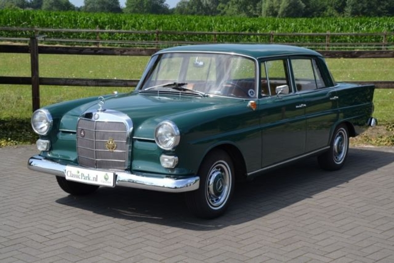 1965 Mercedes Benz 190 W110 Fintail Is Listed Sold On Classicdigest