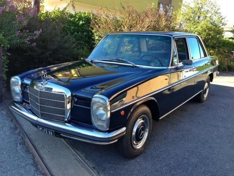 1971 mercedes benz 200 w115 is listed for sale on. Black Bedroom Furniture Sets. Home Design Ideas