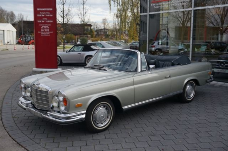 1971 mercedes benz 280se cabriolet w111 is listed for sale. Black Bedroom Furniture Sets. Home Design Ideas
