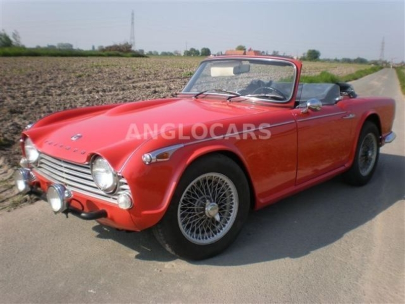 1966 Triumph Tr4 Is Listed Sold On Classicdigest In Wikkelaarstraat