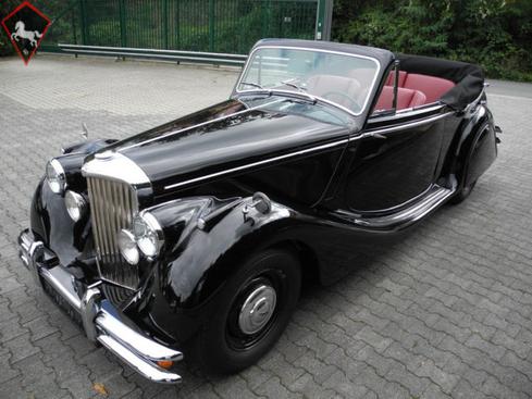 Jaguar MkV Drophead Coupé 1950