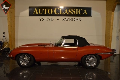 Jaguar E-type XKE 1966