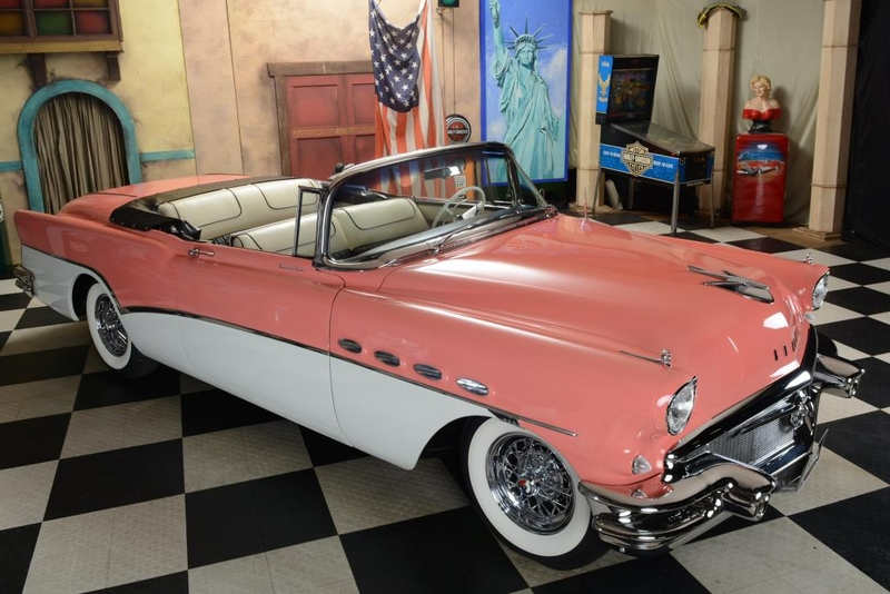 Buick Roadmaster Convertible Top Zustand 1956