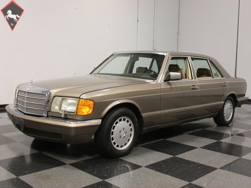 1989 mercedes benz 500 se l w126 is listed s ld on. Black Bedroom Furniture Sets. Home Design Ideas