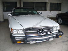 Mercedes-Benz 450SL w107 1980