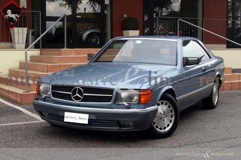 Mercedes-Benz 500 SEC w126 1988