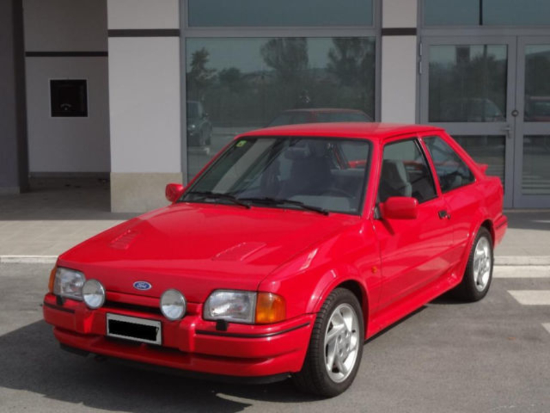 1989 Ford Escort Is Listed For Sale On Classicdigest In Via