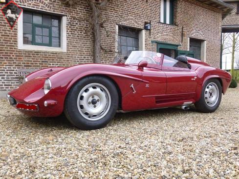 Alfa Romeo TZ1 Barchetta 1963