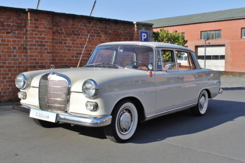 1964 mercedes benz 190 w110 heckflosse is listed verkauft. Black Bedroom Furniture Sets. Home Design Ideas