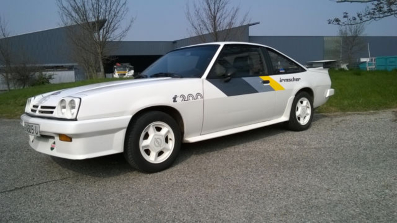 1984 Opel Manta is listed Sold on ClassicDigest in Bahnhofstraße 5
