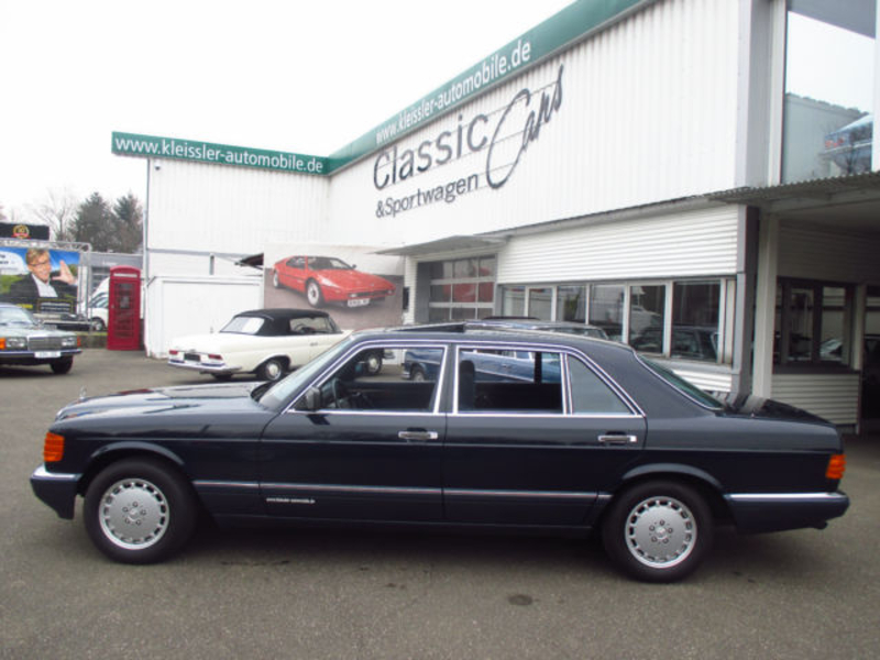 1990 mercedes benz 500 se l w126 is listed for sale on. Black Bedroom Furniture Sets. Home Design Ideas