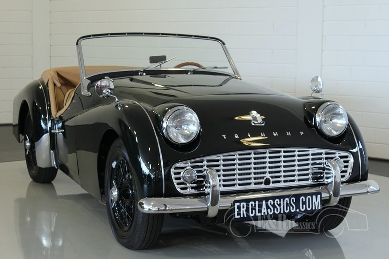1960 Triumph Tr3 Is Listed Sold On Classicdigest In Waalwijk By E R