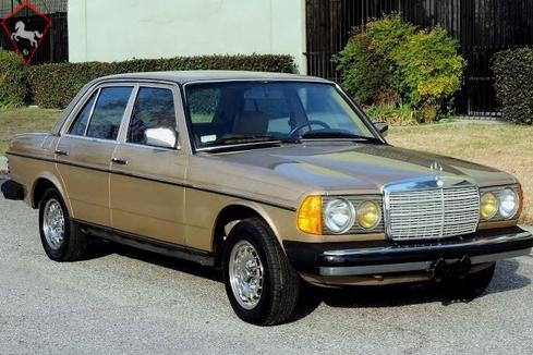Mercedes-Benz 300D w123 1984