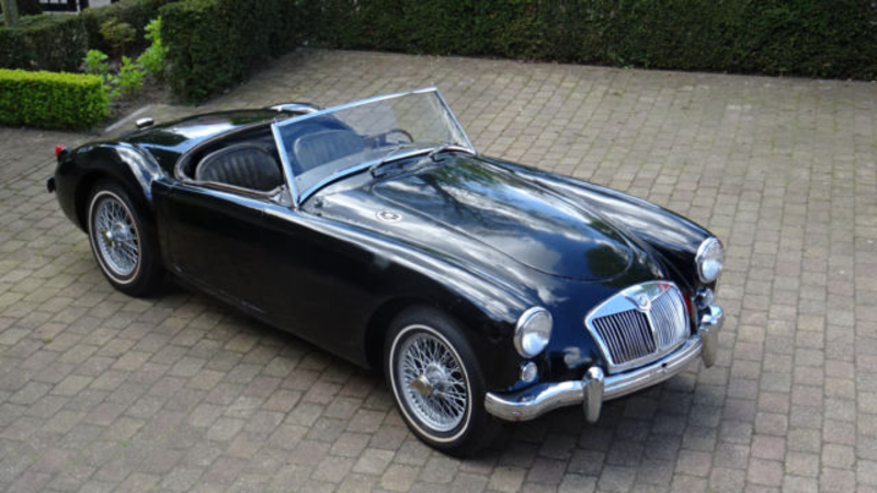 1957 MG MGA is listed Sold on ClassicDigest in Oldenzaal ...
