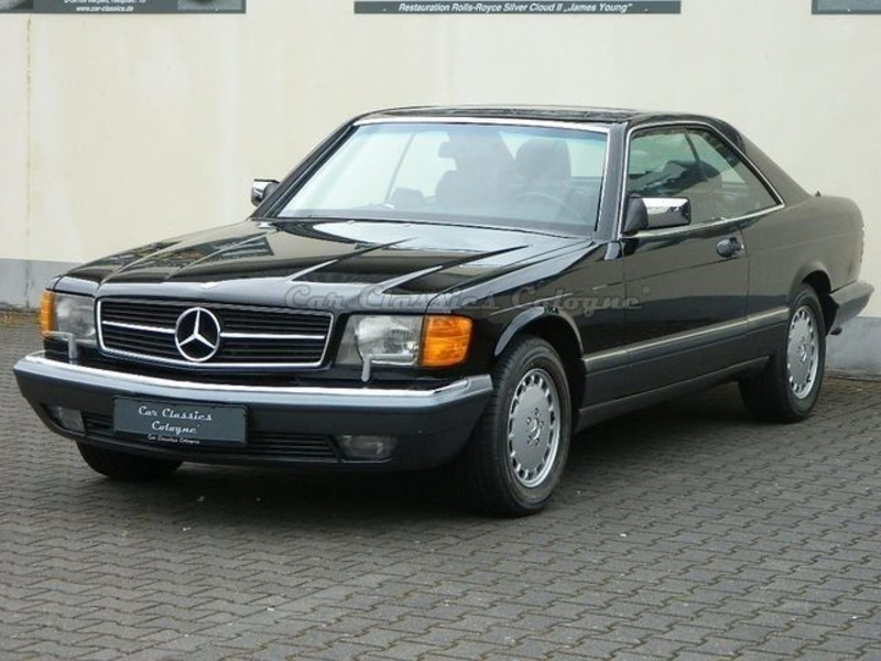 1991 mercedes benz 500 sec w126 is listed sold on. Black Bedroom Furniture Sets. Home Design Ideas