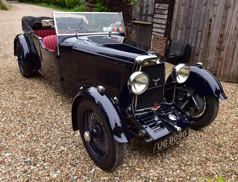 1934 Aston Martin 2 Litre Sports Db1 Is Listed Verkauft On Classicdigest In Grays By Vintage Prestige For 185000 Classicdigest Com