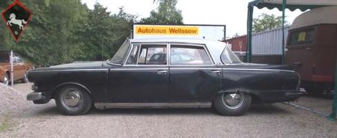 Borgward P100 1961