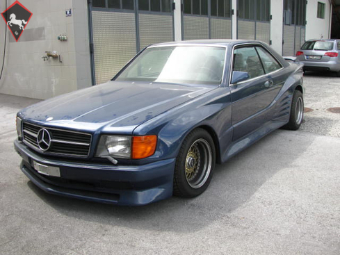 Mercedes-Benz 500 SEC w126 1985