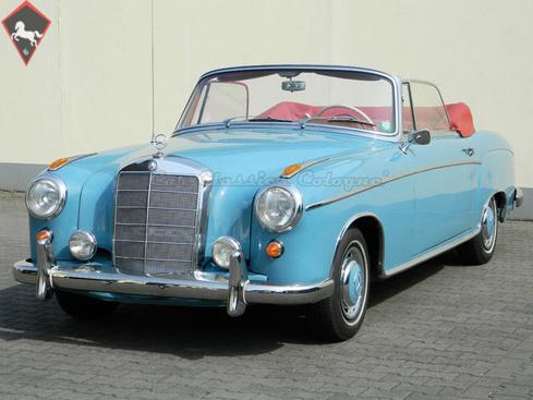 Mercedes-Benz 220s/SE Cabriolet Ponton 1959