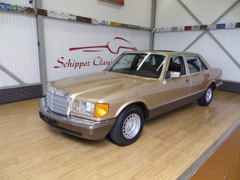 1985 mercedes benz 500 se l w126 is listed for sale on. Black Bedroom Furniture Sets. Home Design Ideas