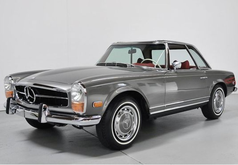 1968 Mercedes-Benz 280SL w113 is listed For sale on ...