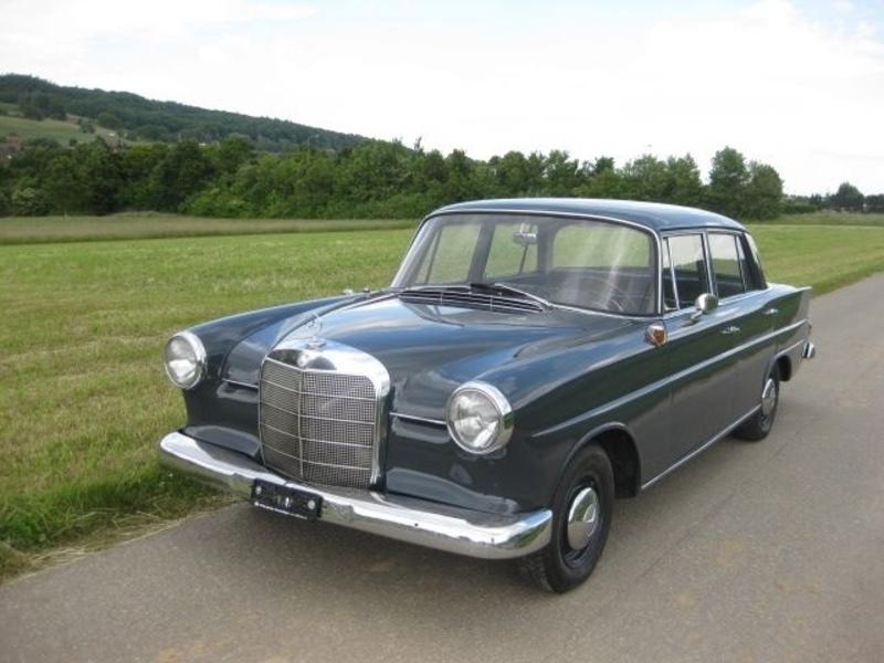 1962 mercedes benz 190 w110 heckflosse is listed verkauft. Black Bedroom Furniture Sets. Home Design Ideas