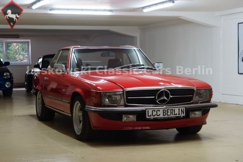 Mercedes-Benz 500SL w107 1985