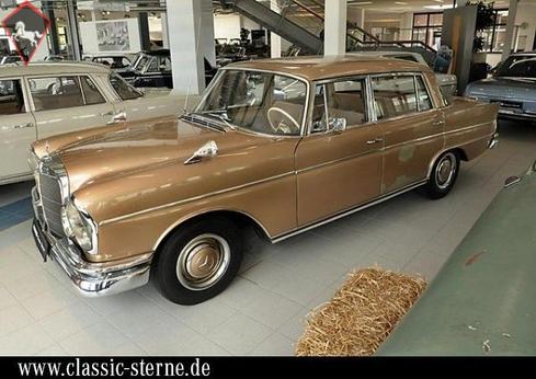 Mercedes-Benz 300SE/SEL w112 Fintail 1964