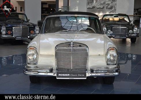 Mercedes-Benz 300SE Cabriolet w112 1964