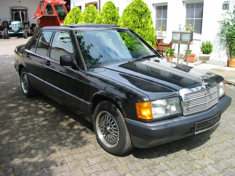1991 Mercedes Benz 190 W201 Is Listed Sold On Classicdigest In