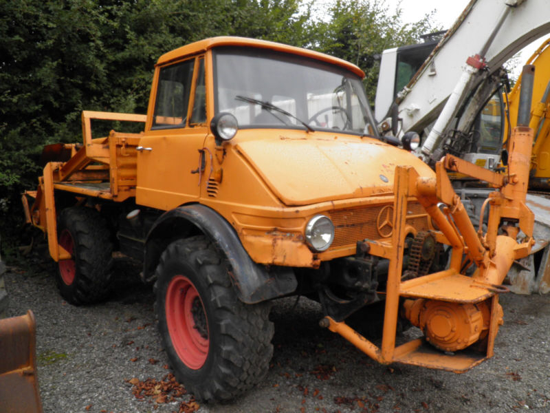 1977 Mercedes-Benz Unimog is listed Sold on ClassicDigest ...