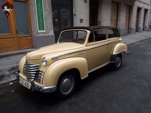 1951 opel rekord is listed sold on classicdigest in gy r. Black Bedroom Furniture Sets. Home Design Ideas