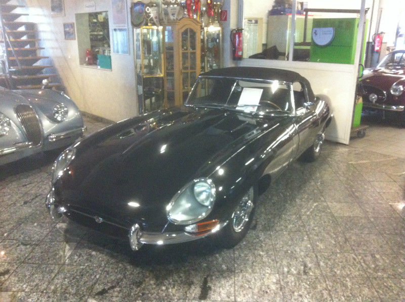 1963 jaguar e-type xke is listed for sale on classicdigest in