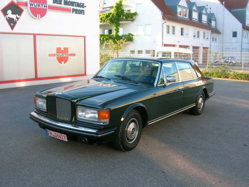 Bentley Mulsane Turbo 1985