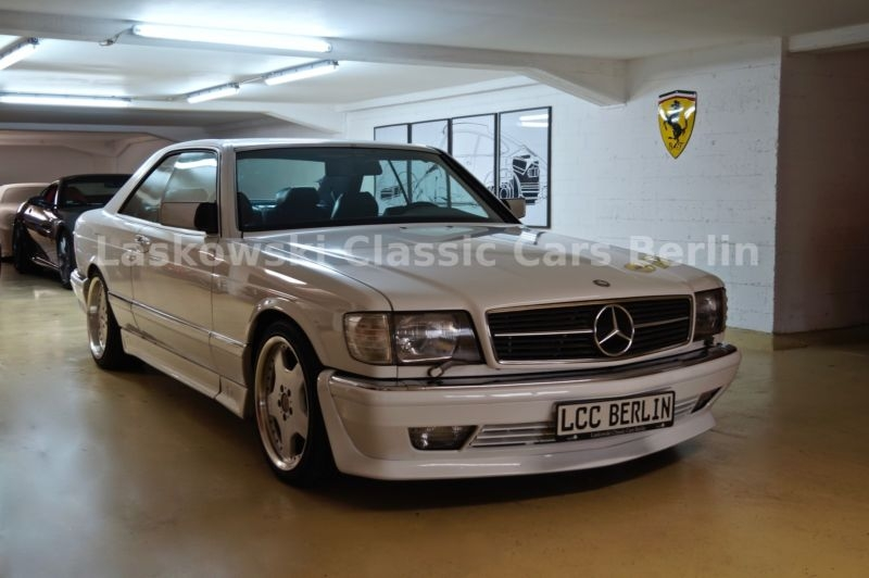 1990 Mercedes-Benz 560 SEC w126 is listed Sold on