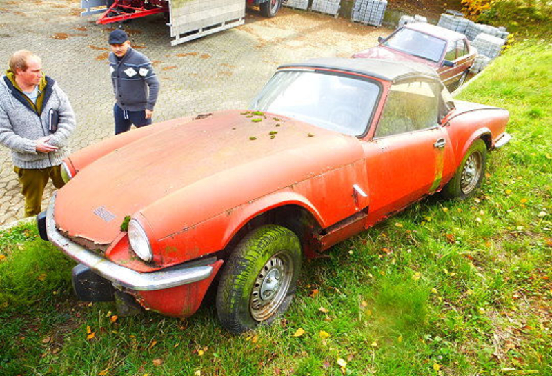 1973 Triumph Spitfire Is Listed For Sale On Classicdigest In