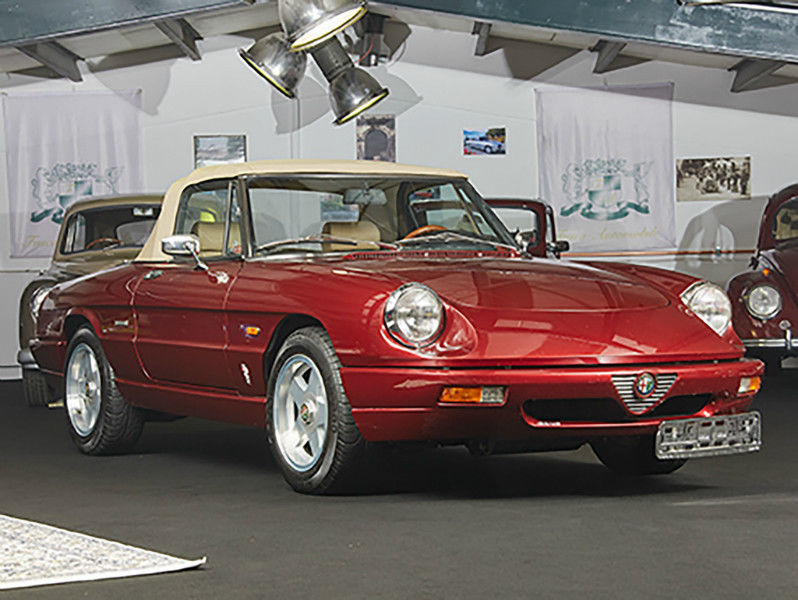 1991 alfa romeo spider is listed for sale on classicdigest in