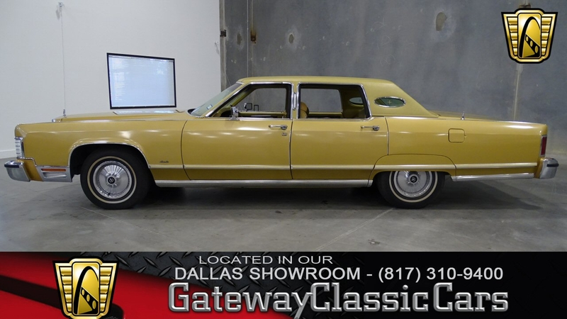 1977 Lincoln Continental is listed Verkauft on ClassicDigest