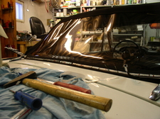 Fiat 1500 Spider Soft Top Assembly