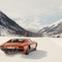 Lamborghini Miura Snowmobile
