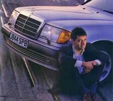Mr Bean is a Taxi Driver ...of a kind