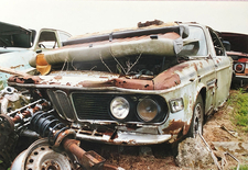 BMW 3.0CSL Scrapyard Find